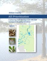 Aitkin County 2015  AIS Prioritization