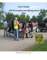 Cass County AIS Prevention and Management Plan