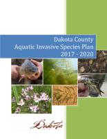 Dakota County Aquatic Invasive Species Plan 2017 - 2020