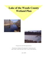 Lake of the Woods County Wetland Plan