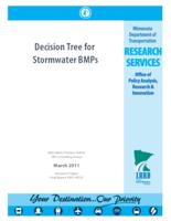 Decision Tree for Stormwater BMPs