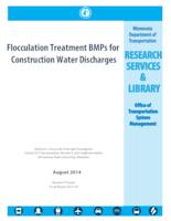 Flocculation Treatment BMPs for Construction Water Discharges