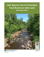 Lake Superior North Watershed Total Maximum Daily Load Flute Reed River