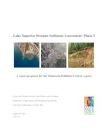 Lake Superior Streams Sediment Assessment: Phase I