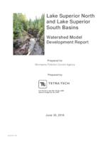 Lake Superior North and Lake Superior South Basins Watershed Model Development Report