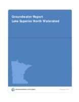 Groundwater Report Lake Superior North Watershed