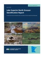 Lake Superior North Stressor Identification Report