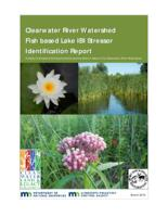 Clearwater River Watershed Fish based Lake IBI Stressor Identification Report