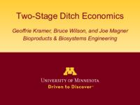 Two-Stage Ditch Economics