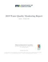 2019 Water Quality Monitoring Report