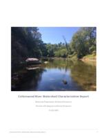 Cottonwood River Watershed Characterization Report