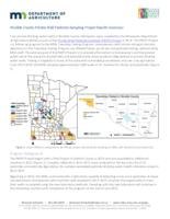 Nicollet County Private Well Pesticide Sampling Project Results Summary