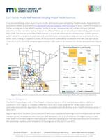 Lyon County Private Well Pesticide Sampling Project Results Summary