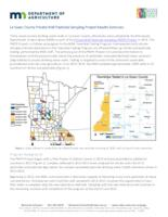 Le Sueur County Private Well Pesticide Sampling Project Results Summary