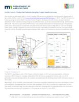 Lincoln County Private Well Pesticide Sampling Project Results Summary