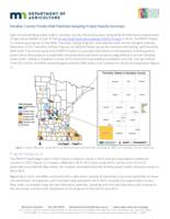 Kanabec County Private Well Pesticide Sampling Project Results Summary