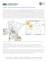 Faribault County Private Well Pesticide Sampling Project Results Summary