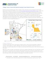 Chisago County Private Well Pesticide Sampling Project Results Summary