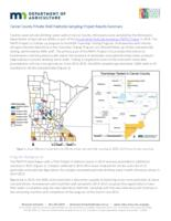 Carver County Private Well Pesticide Sampling Project Results Summary