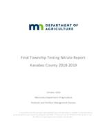 Final Township Testing Nitrate Report: Kanabec County 2018-2019