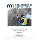 Groundwater Quality Monitoring 2018 Annual Work Plan