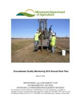 Groundwater Quality Monitoring 2016 Annual Work Plan