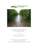 Surface Water Quality Monitoring 2016 Annual Work Plan