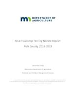 Final Township Testing Nitrate Report: Polk County 2018-2019