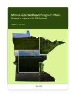 Minnesota Wetland Program Plan: [Prepared in response to U.S EPA Guidance]