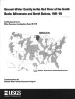 Ground-Water Quality in the Red River of the North Basin, Minnesota and North Dakota, 1991-95