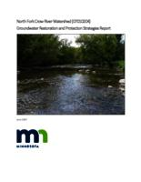 North Fork Crow River Watershed Groundwater Restoration and Protection Strategies Report