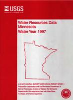 Water Resources Data Minnesota Water Year 1997