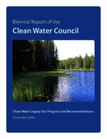 Biennial Report of the Clean Water Council