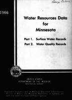 Water Resources Data for Minnesota