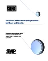 Volunteer Nitrate Monitoring Network: Methods and Results