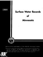 Surface Water Records of Minnesota
