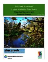 Elm Creek Watershed (Upper Mississippi River Basin) Watershed Restoration and Protection Strategy