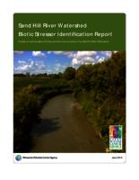 Sand Hill River Watershed Biotic Stressor Identification Report