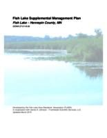 Fish Lake Supplemental Management Plan