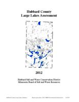 Hubbard County Large Lakes Assessment
