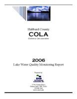 2006 Lake Water Quality Monitoring Report