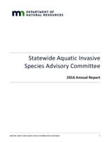 Statewide Aquatic Invasive Species Advisory Committee