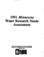 1991 Minnesota Water Research Needs Assessment