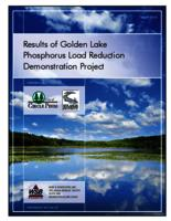 Results of Golden Lake Phosphorus Load Reduction Demonstration Project