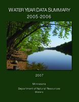 Water Year Data Summary 2005-2006