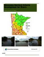 Minnesota Nutrient Criteria Development for Rivers: DRAFT