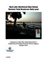 Sauk Lake (Southwest Bay) Excess Nutrient Total Maximum Daily Load