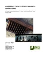 A Community Capacity Assessment of Stormwater Management in the Twin Cities Metro Area