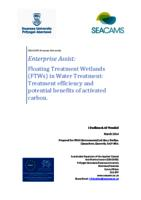 Floating Treatment Wetlands (FTWs) in Water Treatment: Treatment efficiency and potential benefits of activated carbon.