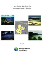 Lake Pepin Site Specific Eutrophication Criteria